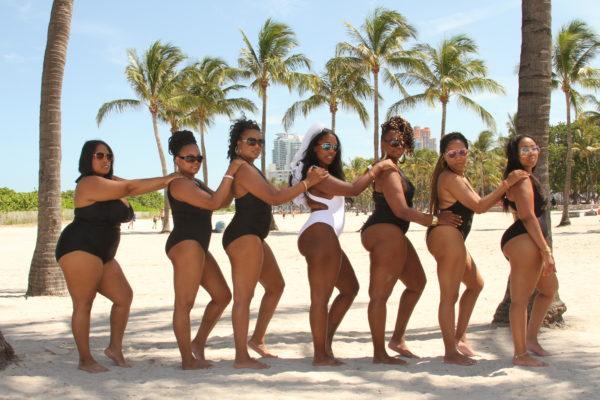 Bachelorette Party Miami Beach Photoshoot