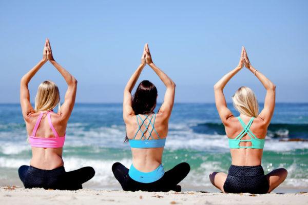 Miami Bachelorettes Bechside Yoga