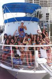 miami party boat bachelorette