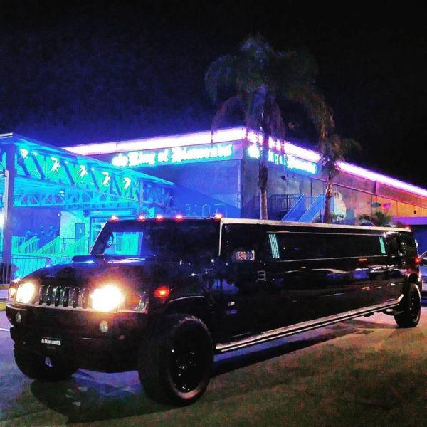 Bachelorette hummer limo