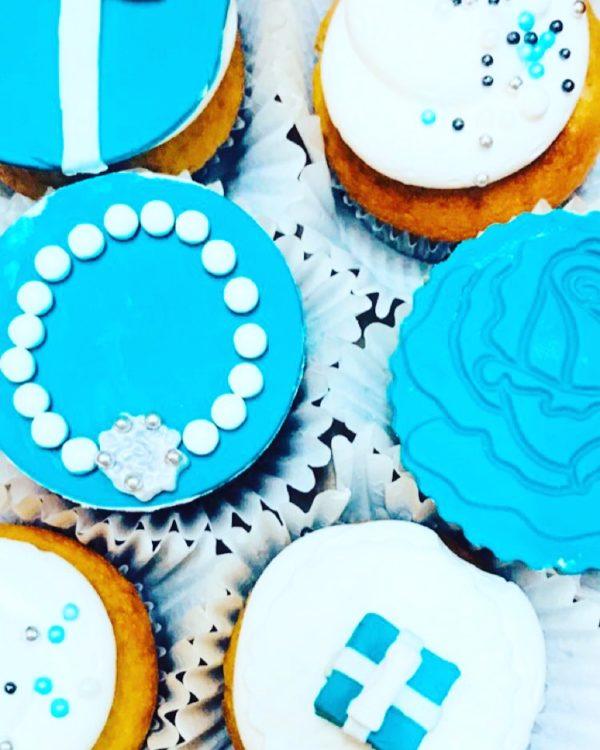 bachelorette cupcake